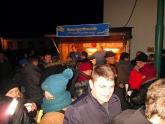 Weihnachtsmarkt in Brand